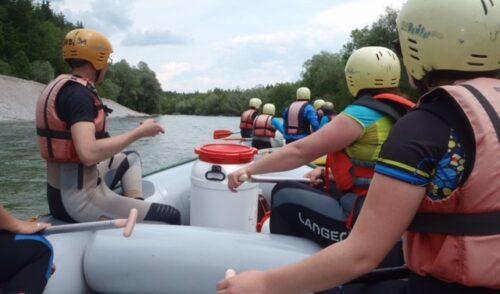 Artikelbild zu Artikel Fortbildung – Bootsleiter*innen Ausbildung 2021